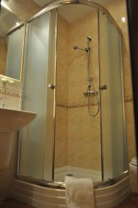 Łazienka w obiekcie Bankietowa Hotel & Restauracja