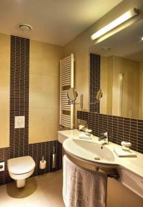 A bathroom at Clarion Hotel Prague City
