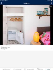 Een stapelbed of stapelbedden in een kamer bij little ibiza