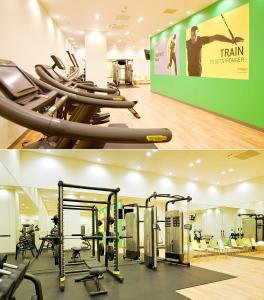 The fitness center and/or fitness facilities at Ibis Styles Sapporo