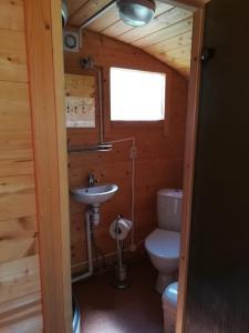 A bathroom at Imantas nams