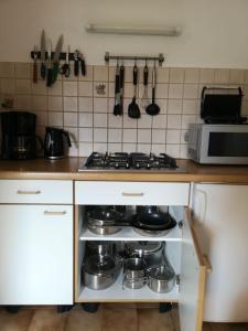 Cucina o angolo cottura di Apartment Furschermuehle