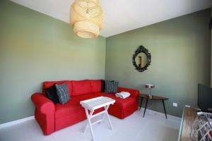 Uma área de estar em Luxury Cayetana, by Comfortable Luxury