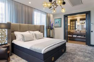 Voodi või voodid majutusasutuse V Spa & Conference Hotel toas