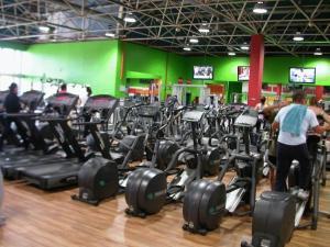 Gimnasio o instalaciones de fitness de Hotel Galaico