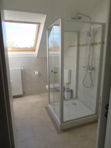 Ванная комната в Wissers Hotel