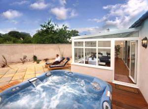 The swimming pool at or near Isle of Eriska Hotel Spa & Golf