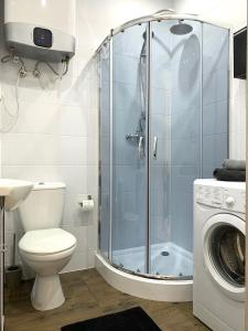 A bathroom at Niron Apartament