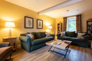 A seating area at Isle of Eriska Hotel Spa & Golf