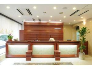 The lobby or reception area at Hotel Shin Osaka / Vacation STAY 81530