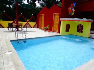 The swimming pool at or near Hotel Maya Vista