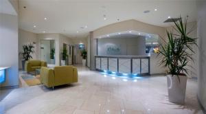 The lobby or reception area at Cilento Mooloolaba