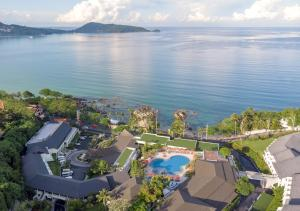 A bird's-eye view of Diamond Cliff Resort & Spa