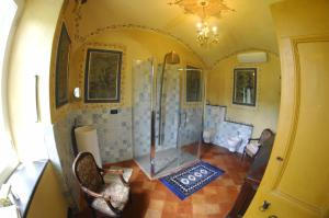 A seating area at Agriturismo La Contessa