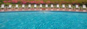 The swimming pool at or near Hyatt Regency San Francisco Airport
