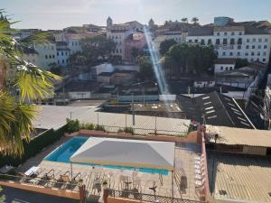 A view of the pool at Hotel Pousada da Mangueira or nearby