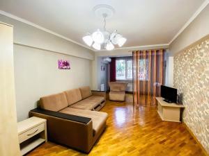 Гостиная зона в Apartment on Roz 31