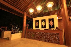 The lobby or reception area at Zfreeti Hotel