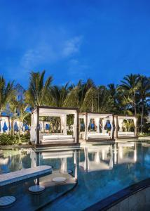The swimming pool at or near One&Only Le Saint Géran, Mauritius