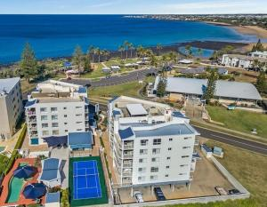 A bird's-eye view of Bargara Blue Resort