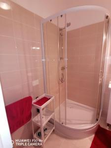 A bathroom at Mirta & Eva Apartments