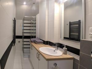 Łazienka w obiekcie HOSTE Apartamenty na wczasy