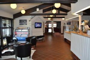 En restaurang eller annat matställe på Sirdal Høyfjellshotell