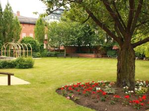 A garden outside Derby Midland Hotel, BW Signature Collection