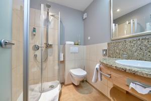 Ein Badezimmer in der Unterkunft Hotel Reinerhof
