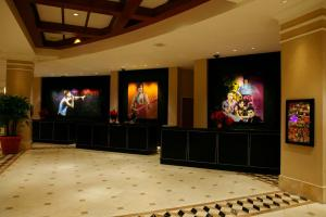 The lobby or reception area at Universal's Hard Rock Hotel®