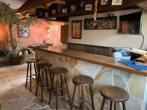 Лаундж или бар в Hotel Zum Fliegerwirt
