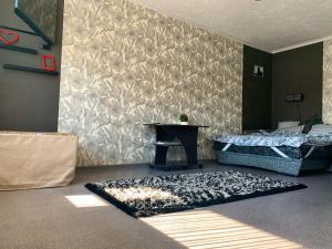 Кровать или кровати в номере Apartaments Tornades