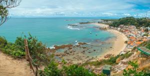 Uma vista aérea de Village Paraíso Tropical