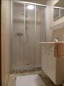 Ein Badezimmer in der Unterkunft Ferienwohnung Innerlipper