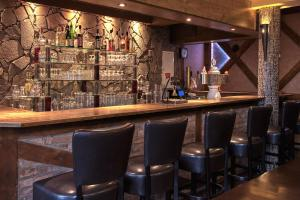 The lounge or bar area at Zur Schleibrücke