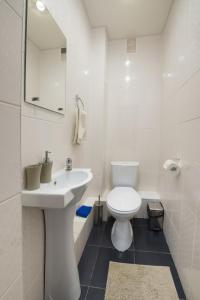 Ванная комната в Гостиница Глория