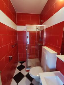 A bathroom at Rooms Ante