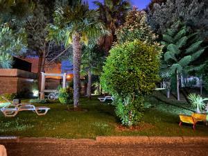 A garden outside Solar Do Areal