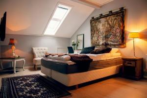 Letto o letti in una camera di Narvik Hotel Wivel