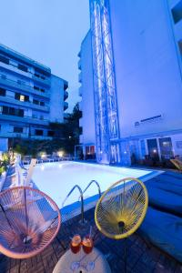 The swimming pool at or near Hotel Parthenon Rodos city