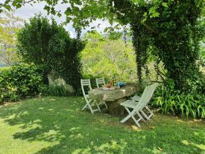 A garden outside Quinta do Sorilhal
