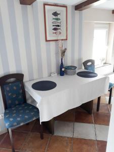 Kuchnia lub aneks kuchenny w obiekcie Pokoje Gościnne Wejherowo