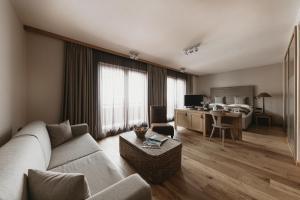 Posezení v ubytování Eco & Wellness Boutique Hotel Sonne