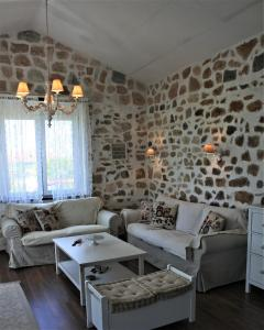 A seating area at The Stone House