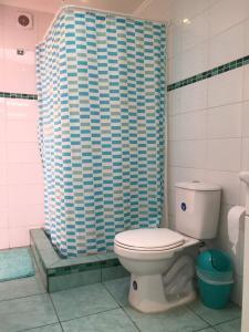 Un baño de Habitaciones Valparaiso