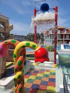 A área de jogos para crianças em Lofts Complejo Playa Mar