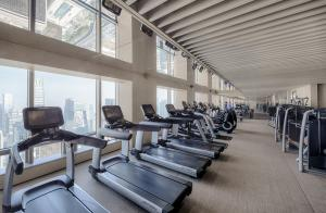 The fitness center and/or fitness facilities at Park Hyatt Beijing
