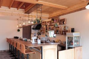 A kitchen or kitchenette at HOSTEL WONDER