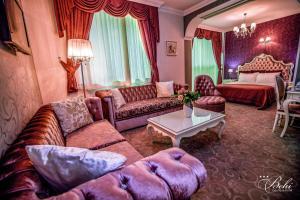 Кът за сядане в Бутик Хотел Бехи