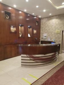 O saguão ou recepção de Elaf Suits
